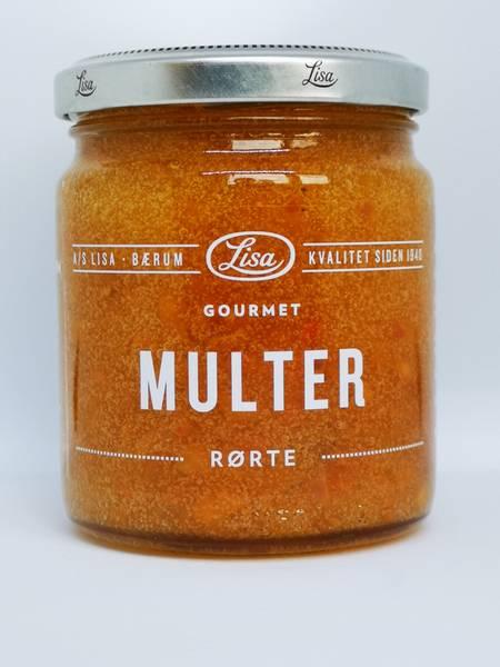 Gourmet Rørte Multer 250gr